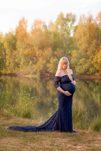Schwangerschaftsfotos in der Natur in Bremen Verden Achim Birte Wührmann Fotografie